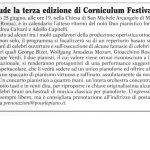 """Il Duo Capitelli-Calvani chiude il """"Corniculum Festival – III Edizione"""""""